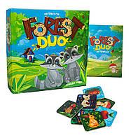 """Детская настольная игра """"Forest Duo"""""""