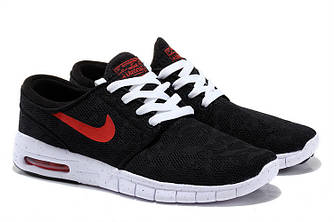 Кроссовки Nike Stefan Janoski Black Red Dots Черные мужские
