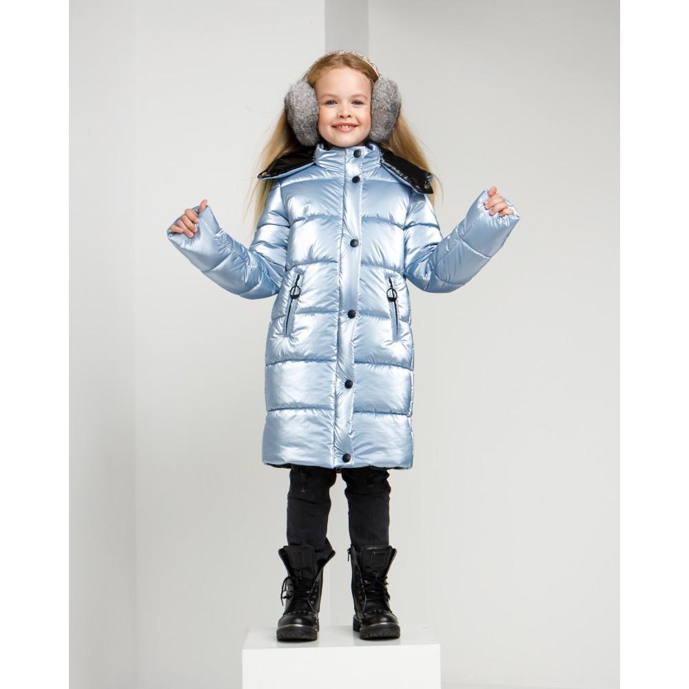Дитячий зимовий комбінезон для дівчинки на флісі Уляна   розміри 122 по 164