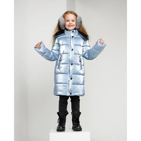 Дитячий зимовий комбінезон для дівчинки на флісі Уляна | розміри 122 по 164, фото 2