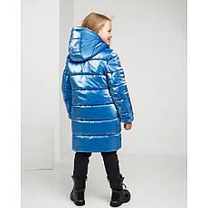 Дитячий зимовий комбінезон для дівчинки на флісі Уляна   розміри 122 по 164, фото 3