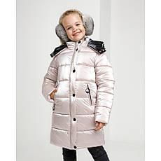 Дитячий зимовий комбінезон для дівчинки на флісі Уляна | розміри 122 по 164, фото 3