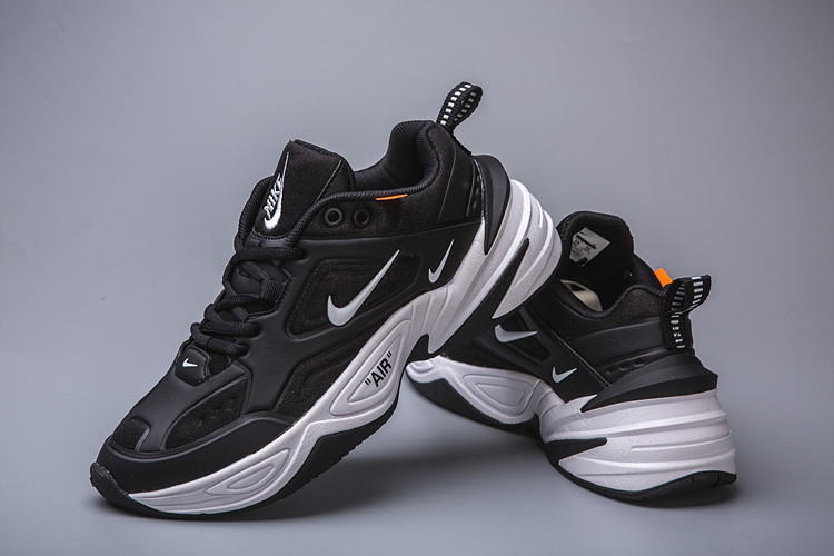 Кроссовки женские Nike Air Monarch M2K Tekno Black White Черные