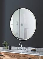 Зеркало круглое диаметр 70 см с фацетом 20 мм