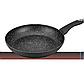 Сковорода Bohmann ВН 1007-24 MRB 24 см мармурове покриття, фото 2