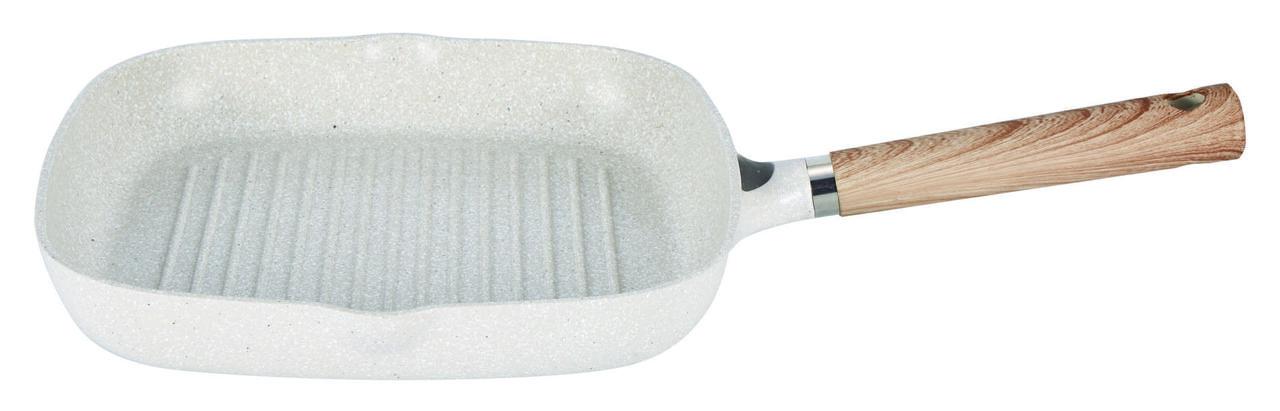 Сковорода-гриль литая с антипригарным покрытием Con Brio CB-2802 (28см)   сковородка Con Brio