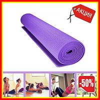 Коврик для йоги Power System Fitness Yoga, коврик для занятия спортом и фитнеса