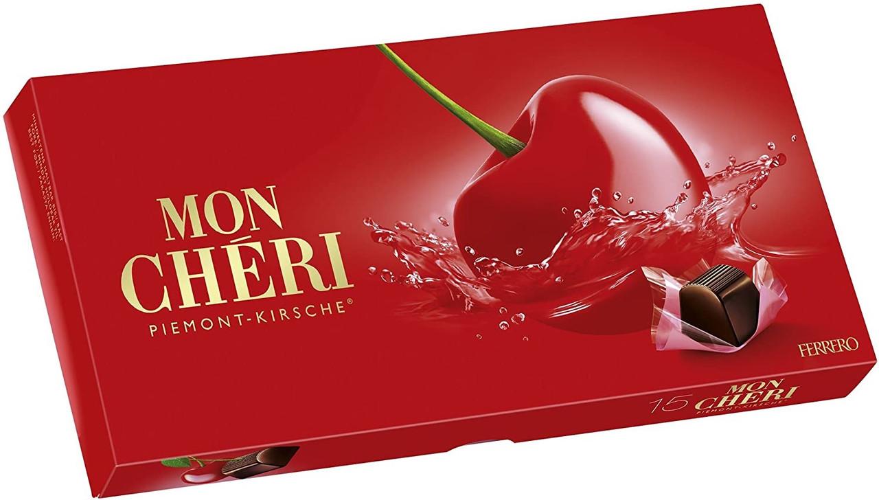 Конфеты Mon Cheri Piemont-Kirsche Пралине Ferrero 157 г Германия
