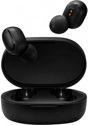 Беспроводные наушники Mi True Wireless Earbuds Basic 2 (BHR4272GL) Black Витрина, фото 2