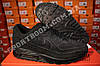 Кроссовки Nike Air Max 90 VT Black Черные женские Замш, фото 6