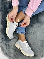 Кросівки жіночі 8 пар в ящику білого кольору 36-41, фото 6