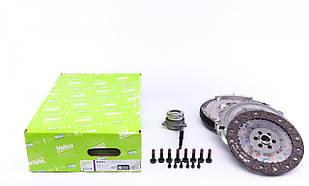 Демпфер + комплект сцепления + выжимной VW T5 2.5 TDI 03- (96kw) VALEO (Германия) 837321