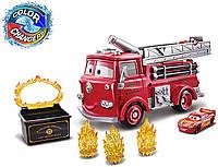 """Набор Тачки 3: Молния Маккуин и Пожарная машина Ред """"Огненная ловушка: меняй цвет"""" GPH80 Mattel, фото 1"""