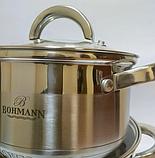 Набор кухонной посуды Bohmann ВН 70717 12 предметов 6 кастрюль с крышками, фото 2
