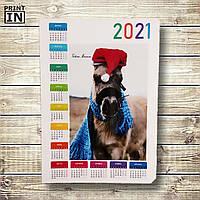 Календарь с вашим фото (на год 1 лист)