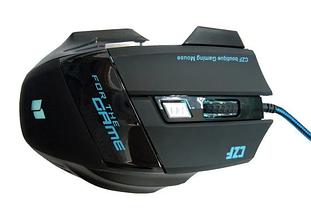 Ігрова мишка дротова з підсвічуванням Gaming mouse LED G-509-7, фото 2