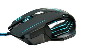 Ігрова мишка дротова з підсвічуванням Gaming mouse LED G-509-7, фото 3
