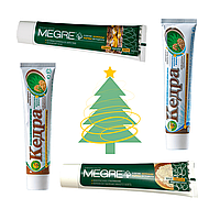 Подарочный набор натуральных зубных паст Мегре