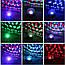 Музыкальный мини-проектор с Bluetooth для вечеринок LED Crystal magic ball light MP3, фото 3