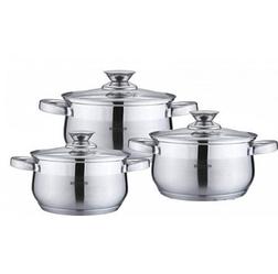 Набор кухонной посуды Bohmann ВН 70526 6 предметов 3 кастрюли с крышками