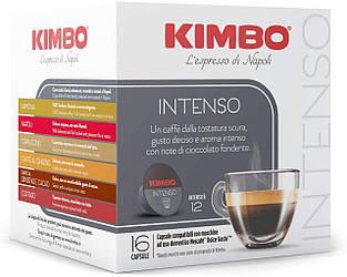 ДЕФОРМАЦІЯ УПАКОВКИ! Dolce Gusto KIMBO Intenso  - Дольче густо Кимбо Интенсо  (16 капсул = 16 порций)