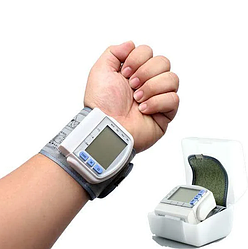 Тонометр на зап'ястя K12-47 | Електронний вимірювач тиску | Automatic Blood Pressure Monitor