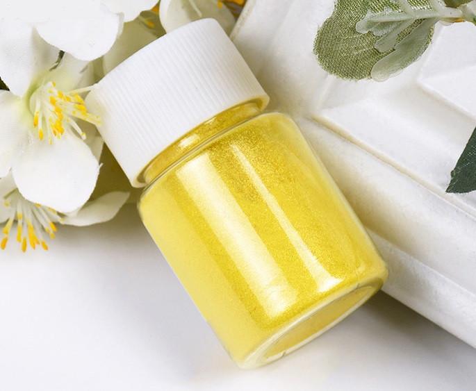 Перламутровый пигмент для эпоксидной смолы, Желтый (067), 20 г