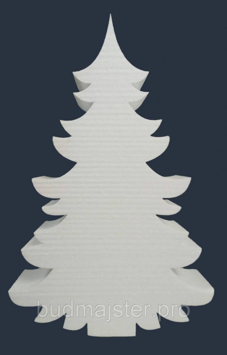 Декор з пінопласту Ялинка без отворів 50 см