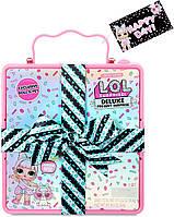 L.O.L. Surprise! Игровой набор Суперподарок с куклой и питомцем LOL Deluxe Present Surprise розовый, фото 1