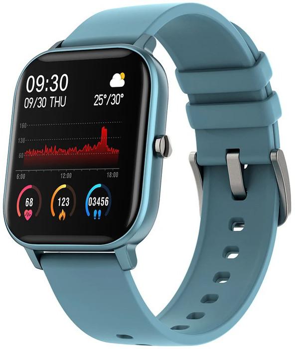 Смарт часы Colmi P8 Blue | IPX7 | Тонометр