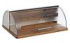 Хлебница Bohmann BH 7255 деревянная с пластиковой откидной крышкой