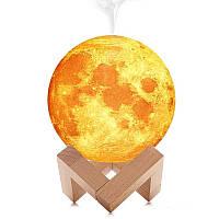 Увлажнитель воздуха 3D Moon Lamp Light Diffuser