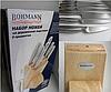 Набор ножей с подставкой Bohmann BH 5041 8 предметов 6 ножей точило   Ножи кухонные универсальный набор, фото 3
