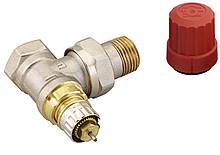"""Клапан Danfoss подключения радиатора/отопления, теплый пол RA-N 15 термостатический, вх. 1/2"""" - вых. 1/2"""","""
