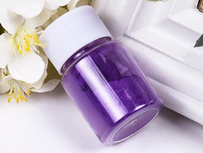 Перламутровый пигмент для эпоксидной смолы, Фиолетовый (084), 20 г