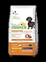 Сухой корм Natural Trainer Dog Sensitive Small & Toy Adult Mini With Duck 7 кг для взрослых собак мелких пород