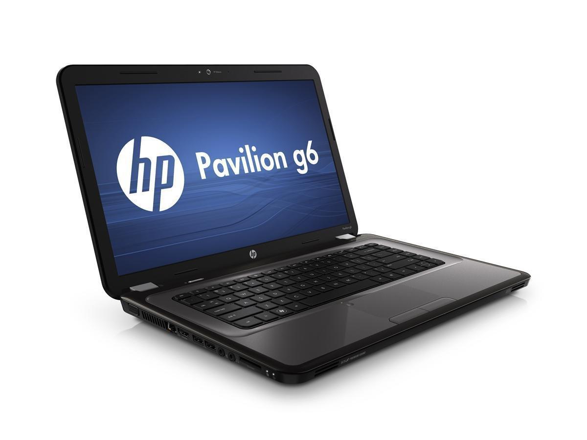 Ноутбук HP Pavilion G6-1318so-AMD A6-3420M-1.5GHz-4Gb-DDR3-320Gb-HDD-W15.6-Web-DVD-R-AMD Radeon HD 7400M-(B)-