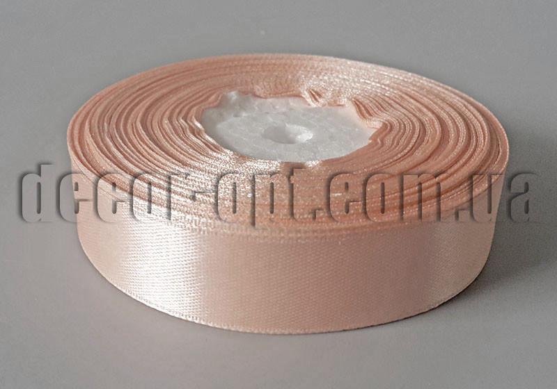 Лента атласная оттенок персиковый 2,00 см 36ярд арт.174/2