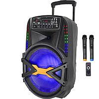 Автономна акустика з мікрофонами BIG250Wat (MP3/FM/Bluetooth/Акумулятор), фото 1