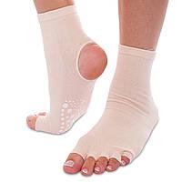 Носки для йоги с открытыми пальцами planeta-sport SP-Planeta FI-0439 36-41 Розовый, КОД: 2350382