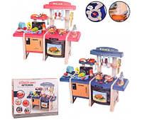 Набор Кухня MJL-713/713 (2 цвета, свет-звук, эффект пара, посудка, приборы,плита,(MJL-713/713)