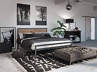 Металлическая кровать Tenero Герар 1400х1900 Черный бархат 100000273, КОД: 1555684