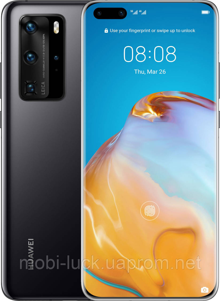 Смартфон Huawei P40 Pro 8/256Gb Black (Global)