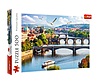 """Пазли - (500 елм.) - """"Прага"""" Чеська республіка/Trefl(37382)"""
