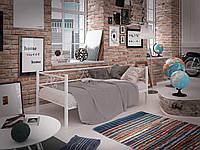 Диван-кровать Tenero Самшит 900х2000 Белый бархат 10000086, КОД: 1555691