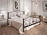 Кровать Tenero Нимфея 1600х2000 мм Черный бархат 100000190, КОД: 1641294
