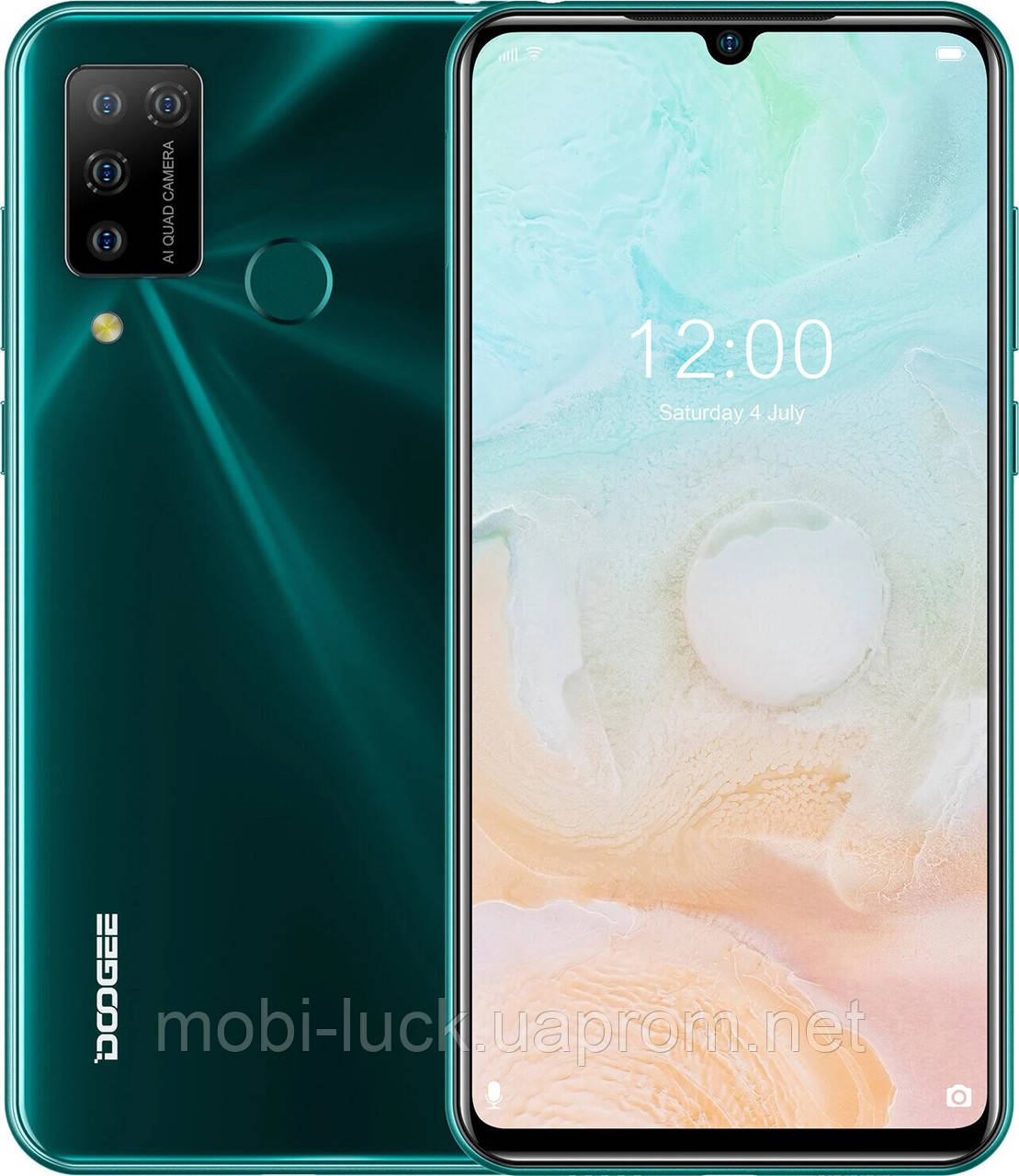 Смартфон Doogee N20 Pro 6/128GB Fantasy forest (Global)