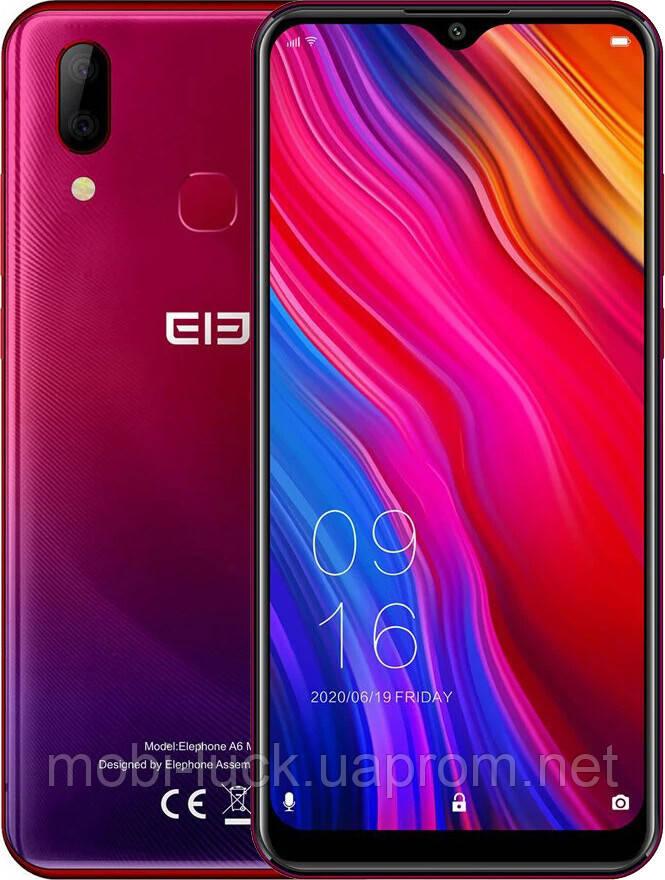 Смартфон Elephone A6 Max 4/64GB Red (Global)