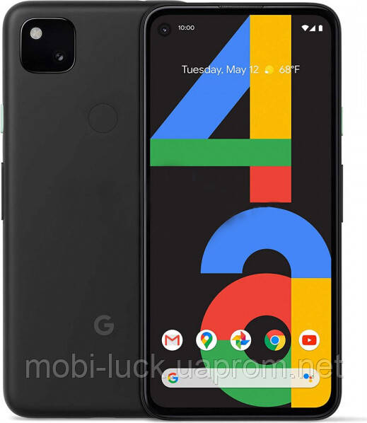 Смартфон Google Pixel 4a 6/128GB Just Black