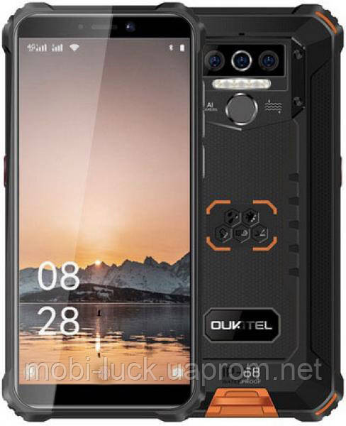 Смартфон Oukitel WP5 Pro 4/64GB Orange (Global)